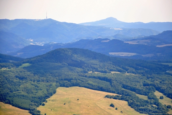 Buková hora a Sedlo.