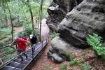 Výstup na stolové hory znamená zdolávat spousty schodů...