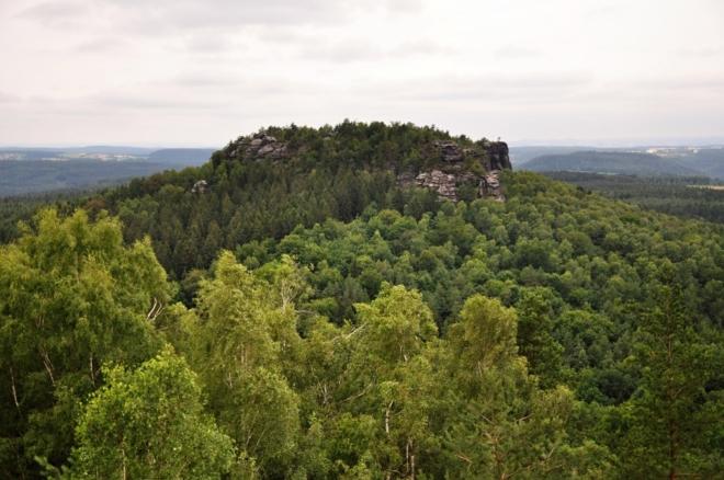 Sousední hora Gohrisch.