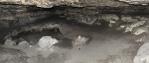 Jeskyně Hampelhöhle.