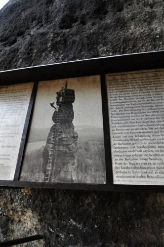 U věže Barbarine...