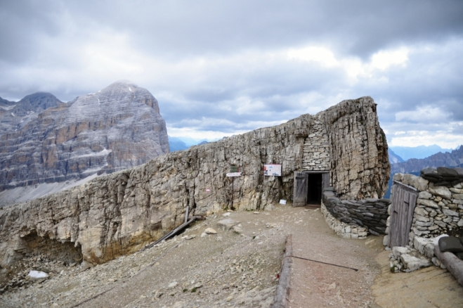 Bunkry ve skalách se staly muzeem.