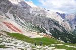 Krvavé svahy Monte Ciaval.