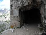 Tunel pod Paternkofelem.
