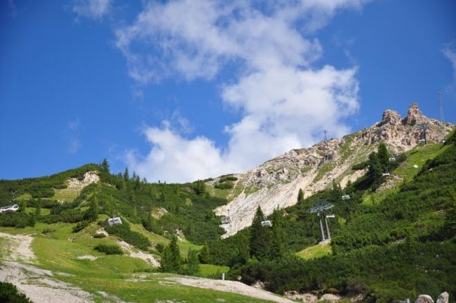 Vzhůru na Monte Cristallo...