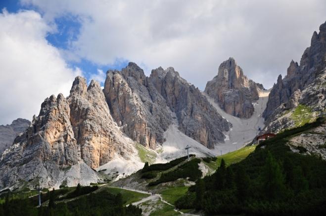 Masív Monte Cristallo - Cima Padeon, Cresta Bianca, Cristallino ďAmpezzo.