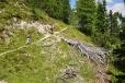 Cestou k vrcholu Pomagagnon...