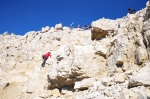 Výstupna hlavní vrchol někteří vzdali, ale těžký nebyl...