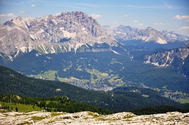 Monte Cristallo a Cortina.