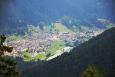 Výhled na Auronzo od Stol de Petola.