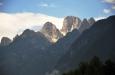 Cima ďAuronzo a Croda dei Toni (3 095 m).
