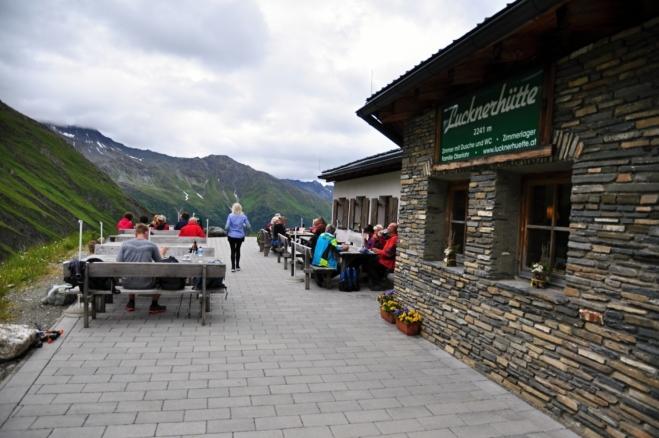 U Lucknerhütte.