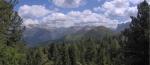 Další panoramatický pohled od skupiny Sasso Lungo.