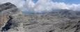 Chata Rosetta v měsíční krajině.