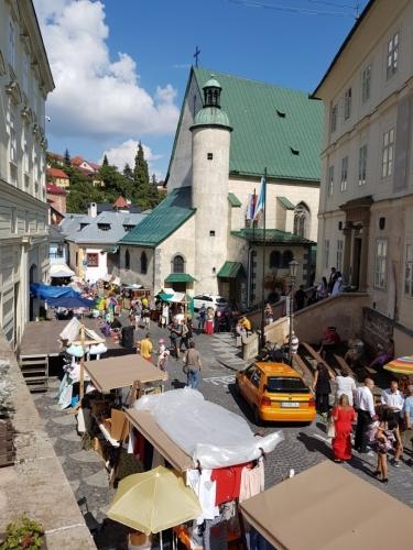 Banská Štiavnica - kostel sv. Kataríny.