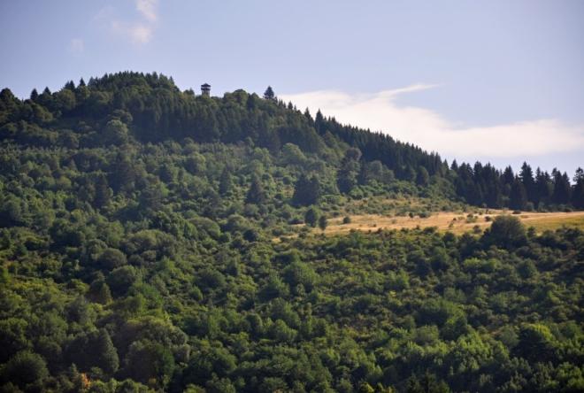 Rozhledna Krahuľský vrch.