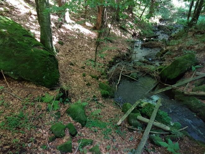 Bystrý potok.
