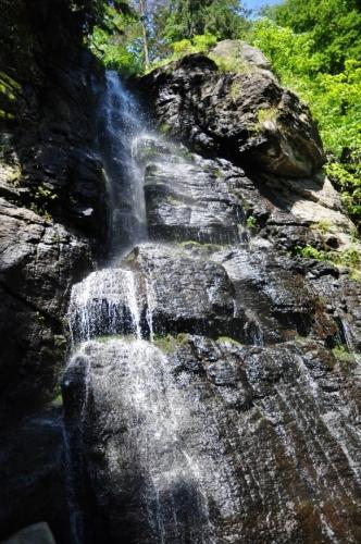 Vodopád Bystré - nebo také Bystrô.