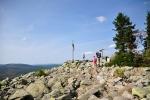 Na vrcholu Luzného jsem snad po desáté.