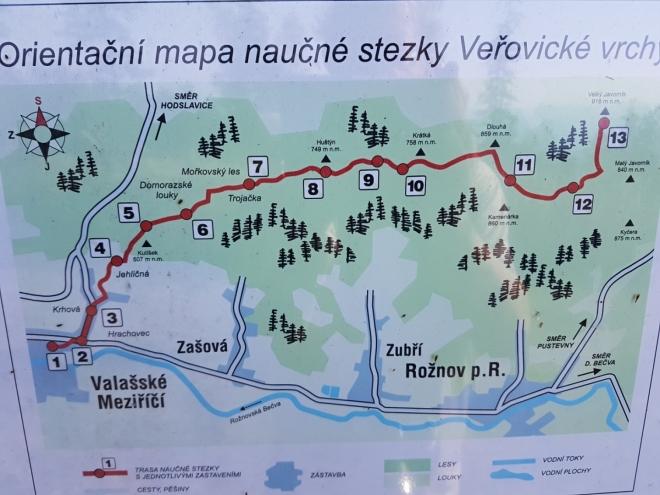 Procházíme Veřovické vrchy...