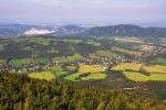 Výhled k Štramberské Trúbě.