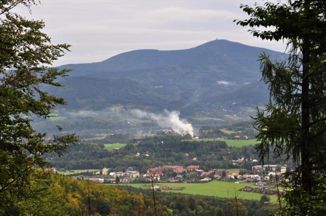 Výhledy na Beskydy a Lysou horu nás neopustí celou trasu na Ondřejník.