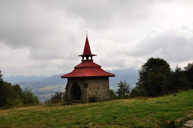 Kaple sv. Antonína.
