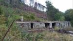 Vyhořelé zbytky chaty na Ondřejníku.
