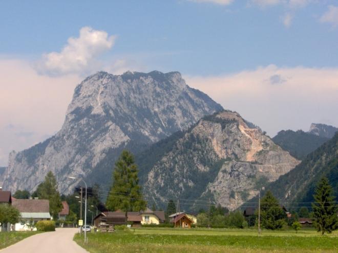 Traunstein v celé své kráse. (fotoarchív 2009 Roman V.)