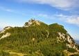 Na vrchol Traunsteinu musíme i kousek sestoupit.
