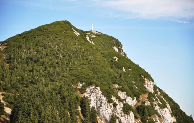 Traunstein (1 691 m n. m.).
