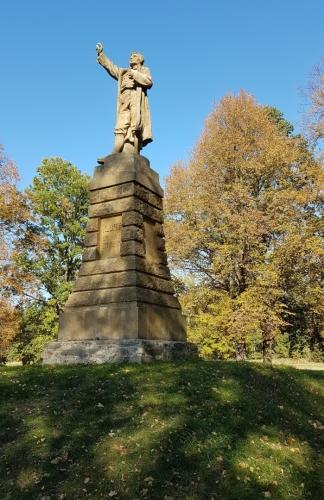 Pomník Jakuba Kubaty.