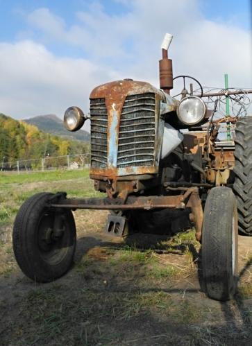 Traktor Zetor.