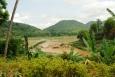 Soutok řeky Nam Khan s Mekongem.