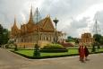 Phnompenh - Královský palác...