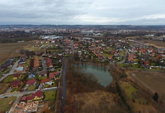 Litvínovice a České Budějovice.