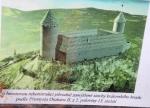 Takto hrad měl vypadat, pokud by byl dokončený. Hrady se však nejen stavěly, ale také vypalovaly a bořily.