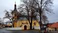 Kostel sv. Markéty  - barokní stavba z roku1746 stojí na místě staršího kostela.