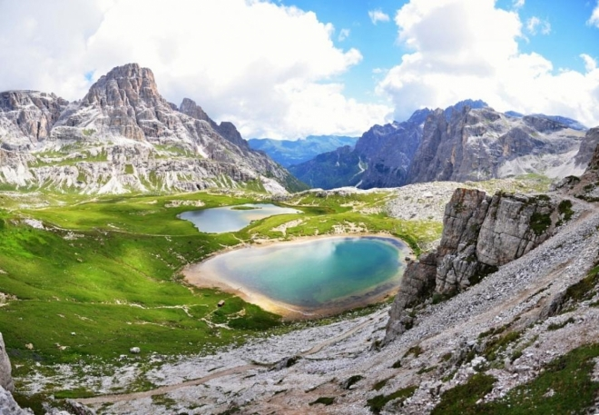 Lago dei Piani (Dolomity).