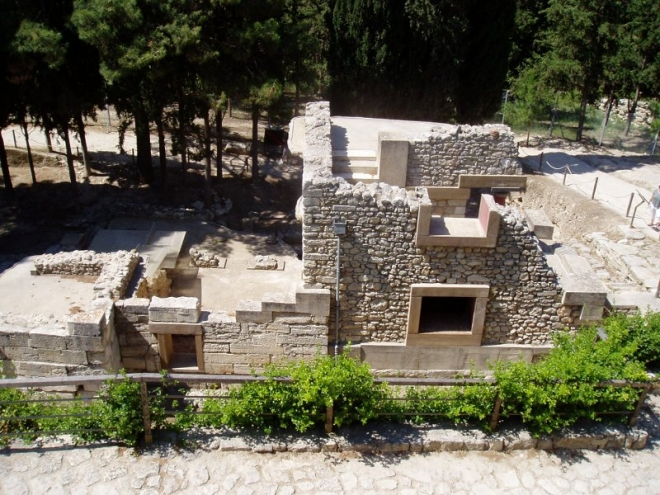 Část jednoho z nejstarších splachovacích záchodů