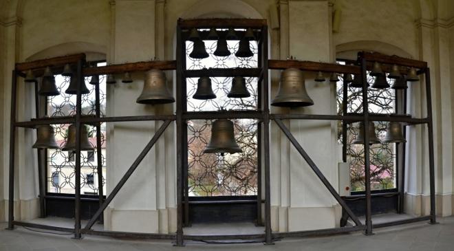 Zvonkohru jsme si vyslechli ihned po příjezdu ke kostelu.