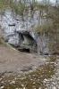 Staré skály skrývají ponor Sloupského potoka.