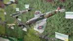 U modelů válečných letadel by se dalo prohlížením strávit mnoho času...