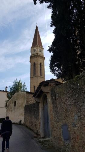 Kostel Duomo di Arezzo.