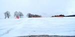 Sněhové zátarasy.