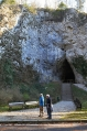 Ráno u Kateřinské jeskyně.