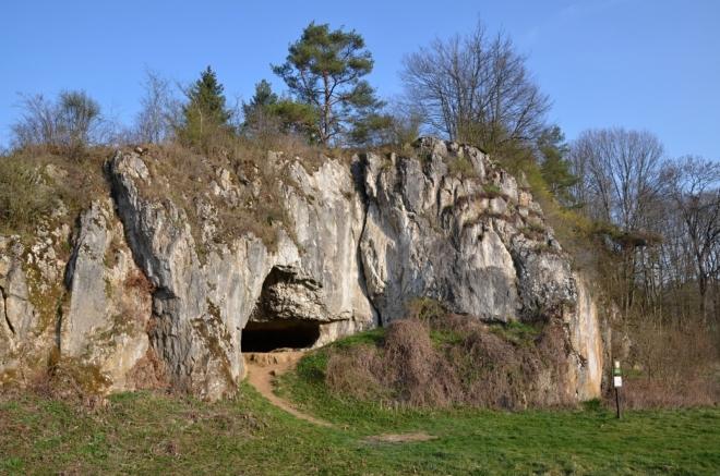 Cigánská jeskyně nedaleko Ostrova u Macochy...