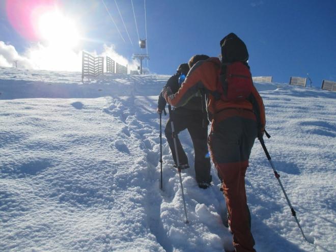 IMG_1433 - po uzavření cestovatelského paktu :) vyrážíme společně k vrcholu Chopku s 2 024 m.