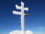 IMG_1487 - vrcholový kříž Ďumbieru ( 2 046m) na podzim :).