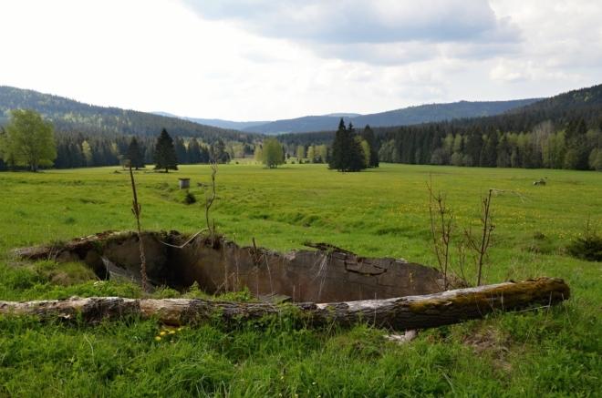 Pohled k PR Pravětínská Lada.